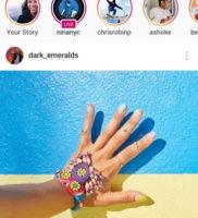Скриншоты instagram